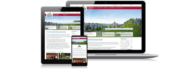 Die neue Website von Bad Blumau - natürlich auch #responsiv :-) www.bad-blumau.com