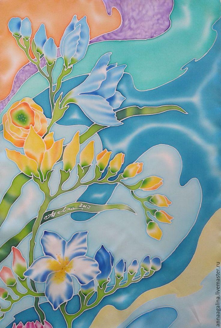 весна батик картинки