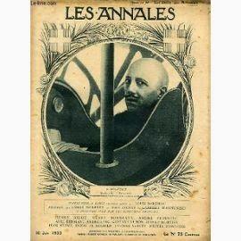"""Annales Politiques et Litteraires  (Curiosità sconosciute) Raccolta francese di cronache e scritti del primo Novecento. Il 22 gennaio 1905 presentavano il seguente misterioso articolo: « Stranezze meteorologiche. Il """"New York Herald"""" ha segnalato ultimamente un fenomeno assai strano di cui è stato testimone e attore il capitano Urghart, comandante della nave inglese Mohican >>>> CONTINUA >>>> http://www.enciclopedia-mondiale.com/2014/03/annales-politiques-et-litteraires.html"""
