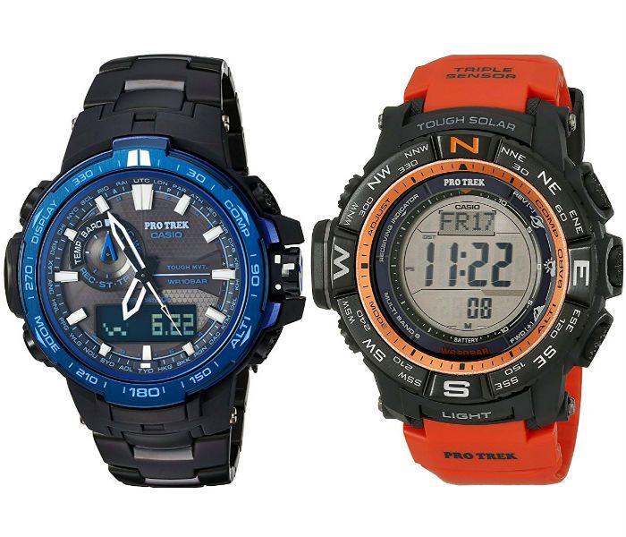 Hoy solamente en Amazon hay un especial con una variedad en los Relojes Casio ProTrek para hombres. Con este especial puedes ahorrar hasta ...