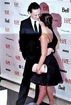 Tom Hiddleston, Tom Hiddleston and Susannah Fielding at TIFF 2011