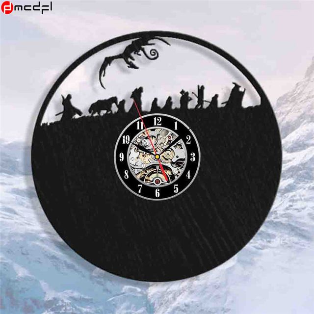 Hot Lord of the Rings Theme 12 inch Handmade Vinyl 3D Wall