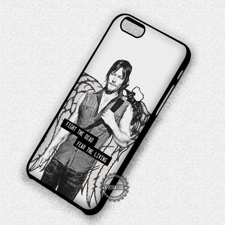 Fight the Dead Daryl Dixon Walking Dead Movie - iPhone 7 6S  5C SE Cases & Covers