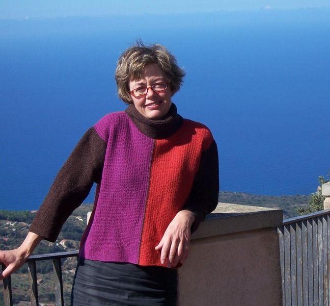 Spiegazione TAORMINA, un maglione corto e largo di domoras su DaWanda.com
