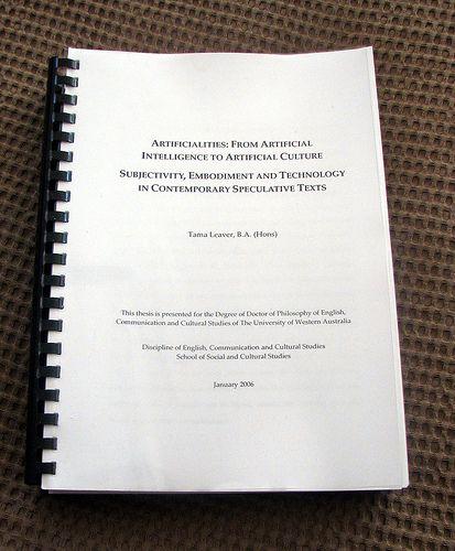 thesis database usa