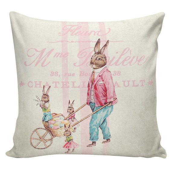 16 best Easter Pillows images on Pinterest Pillowcases, Burlap pillows and Easter pillows