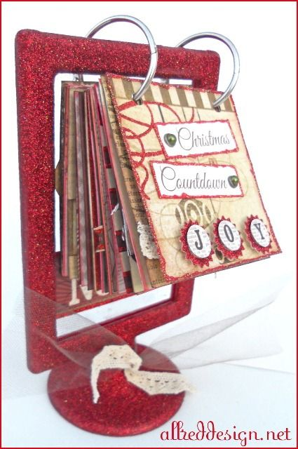 Christmas Advent Calendar Ideas.... but put a picture of us for each Christmas together! 1 = first Christmas