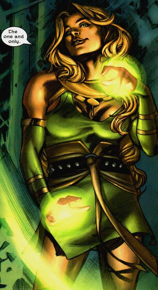 updated marvels enchantress by - photo #8