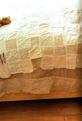 White, tattered, interesting.: Patchwork, Vintage Quilts, White Quilt, Heart Quilts, Japanese Quilt