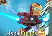 Juego de Lego Ironman | JUEGOS GRATIS: Ha llegado este gran juego de IronMan Lego, ayudarlo a derrotar a los enemigos disparando y esquivando fuertes nubes de tormentas que te aran daño a la armadura, acumula todas las piedras rojas que puedas para así tener el mayor puntaje posible.