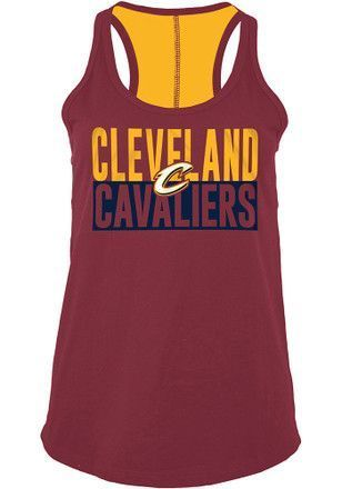 Cleveland Cavaliers Womens Red Training Camp Tank Top   basketballtrainingcamp  0f15b6f4dc