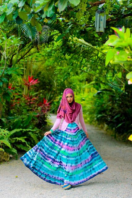 Jungle Paradise by Dian Pelangi (young muslimah designer from Indonesia)