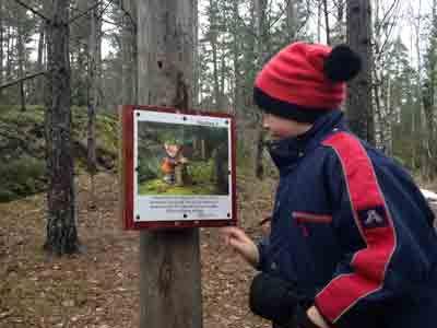 Hitta Vilse - överlevnadskurs för barn som gått vilse i naturen