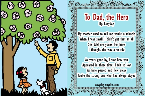 Dads, Father's Day And Daughters