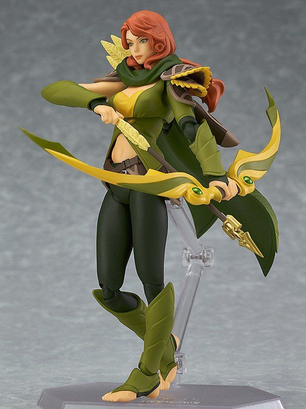 Pre-Order Release Date: May 2017 DOTA 2's intelligence hero 'Windranger' is joining the figma series! From the popular game 'DOTA 2' comes a figma of Windranger! - Using the smooth yet posable joints