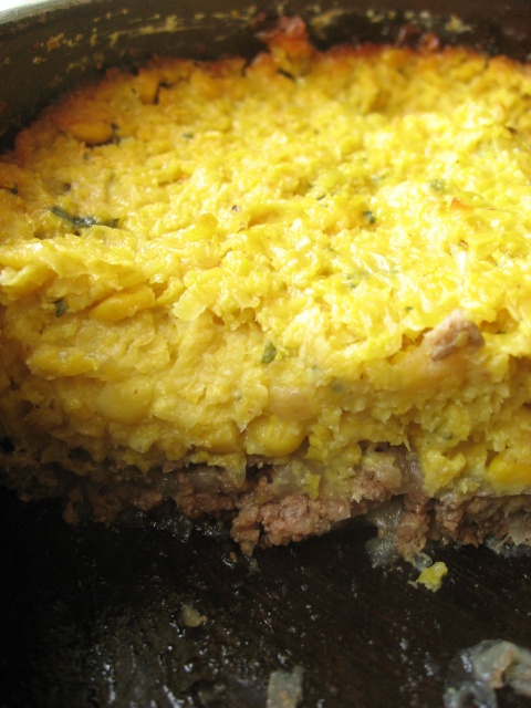 Recipes from South America: Chilean corn pie (pastel de choclos)