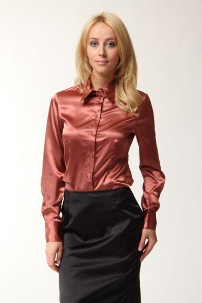 Satin lover blouse sexy