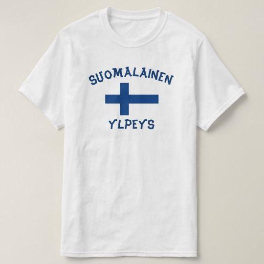 suomalainen ylpeys finnish pride T-Shirt Get this t-shirt with the Finnish sentence suomalainen ylpeys which mean finnish pride