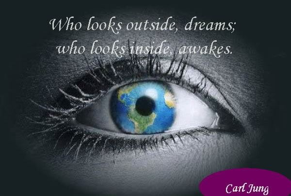 Awakening...JungCarljung, Awakening, Inspiration, Carl Jung, Dreams, Nature Quotes, Inside, Wisdom Quotes, Eye