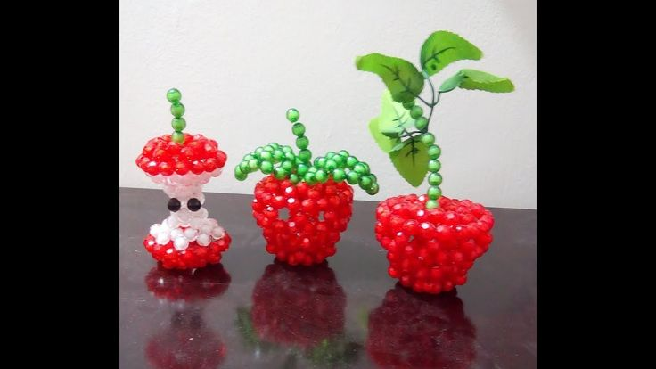 beaded fruits making