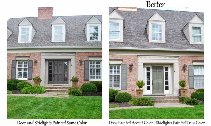 Should the Sidelights Match the Front Door or Match the ...