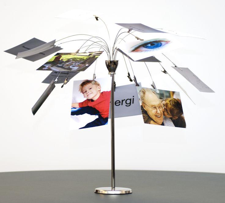 Vi producerede flyers og kreative indslag som postkort og værditræer alt sammen i en sammenhængende visuel identitet.