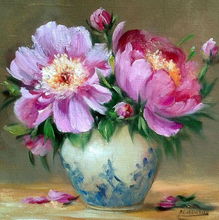 17 migliori idee su dipinti di rose su pinterest tela for Fiori di ciliegio dipinti