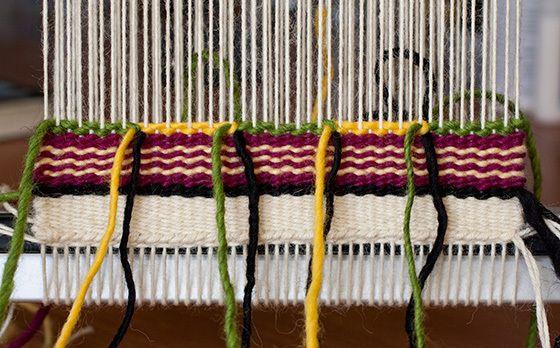 Intro to Tapestry Class: Weft Interlock
