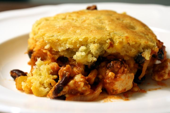vegetarian tamale casserole