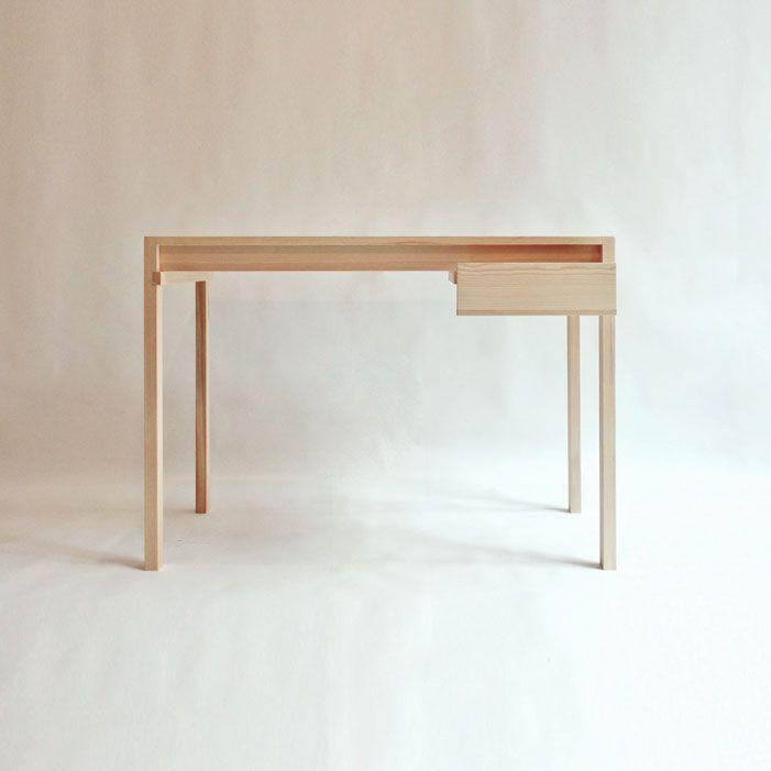 Pine Wood Desk Minimalist Furniture Design Furniture Design