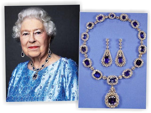 Elizabeth II e as joias que ganhou do rei George VI