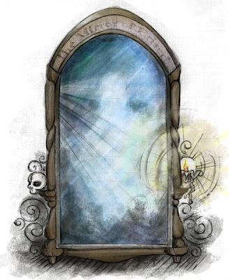 Mirror of erised tattoo pinterest for Desire miroir miroir