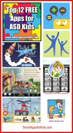 Updated and Expanded: Top 12 FREE Apps for ASD Kids http://www.smartappsforkids.com/2014/04/updated-and-expanded-top-12-free-apps-for-asd-kids.html