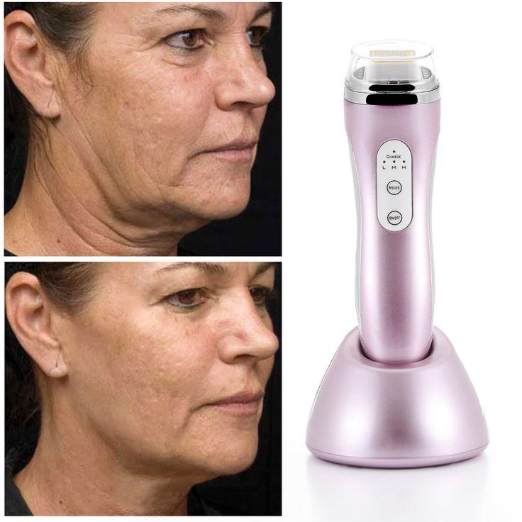Uso doméstico de matriz de rádio de remoção de rugas de envelhecimento da pele corpo beleza equipamento do dispositivo frete grátis alishoppbrasil
