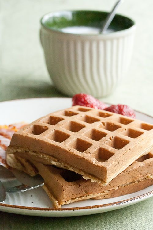 These Red Fife Waffles with Maple Syrup show off two quintessentially Canadian ingredients. Serve with peameal bacon for a properly patriotic breakfast.
