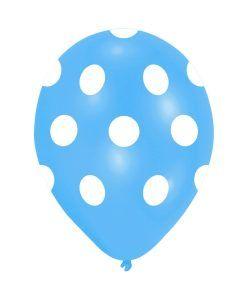 Doğum günü parti süslemeleri için Mavi Beyaz Puanlı 10 Adet Renkli Latex Balon ürünümüzü online olarak uygun fiyatlar ile satın…