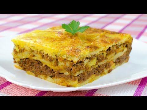 Reteta Musaca de cartofi - JamilaCuisine - YouTube