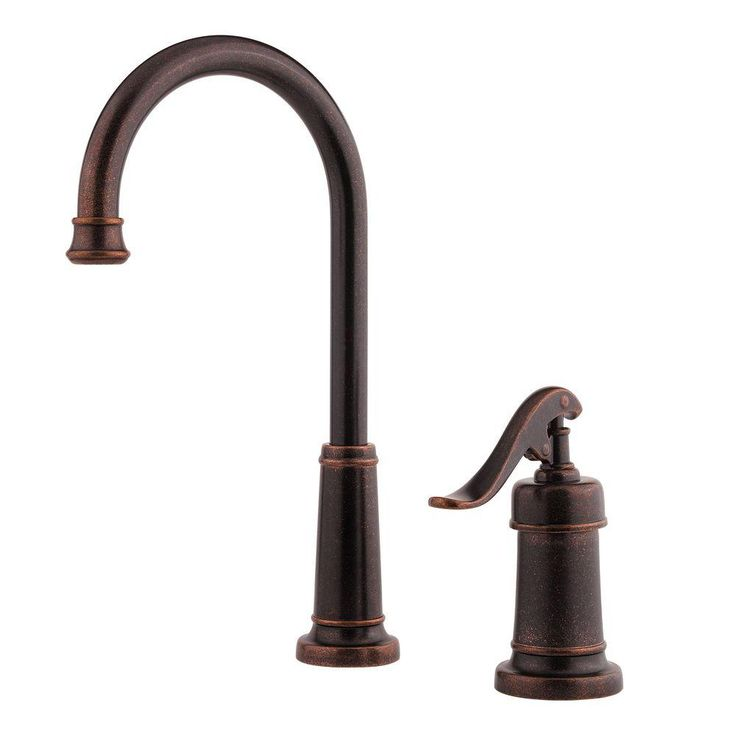 Pfister Ashfield Single-Handle Bar Faucet in Rustic Bronze