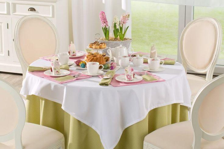 Ester pastels. #dekoria #ester #wielkanoc #inspirations #inspiracje #jadalnia #diningroom #interior #wnetrza #urzadzamy #decorations #dekoracje