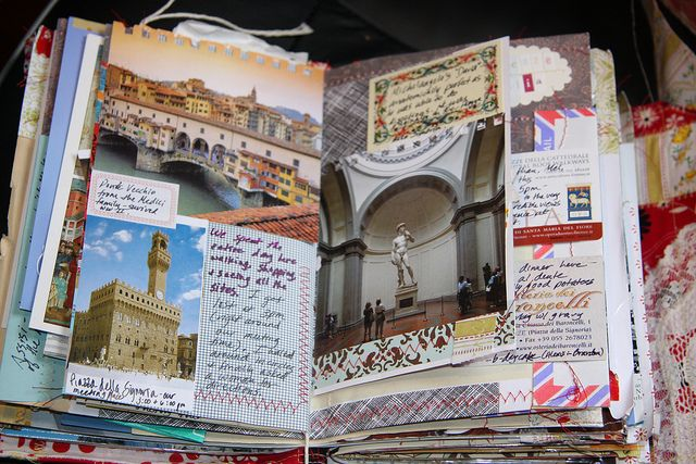 When you return home, you'll probably think a lot about your experience studying abroad. One way to preserve these memories is to put together a good old fashioned scrapbook (or Pinterest, Facebook or Flickr albums) so you can always look back and remember your time abroad. This image is a great example of a book put together by someone who went to Florence, Italy, which is one of CAPA International Education's most popular program sites.