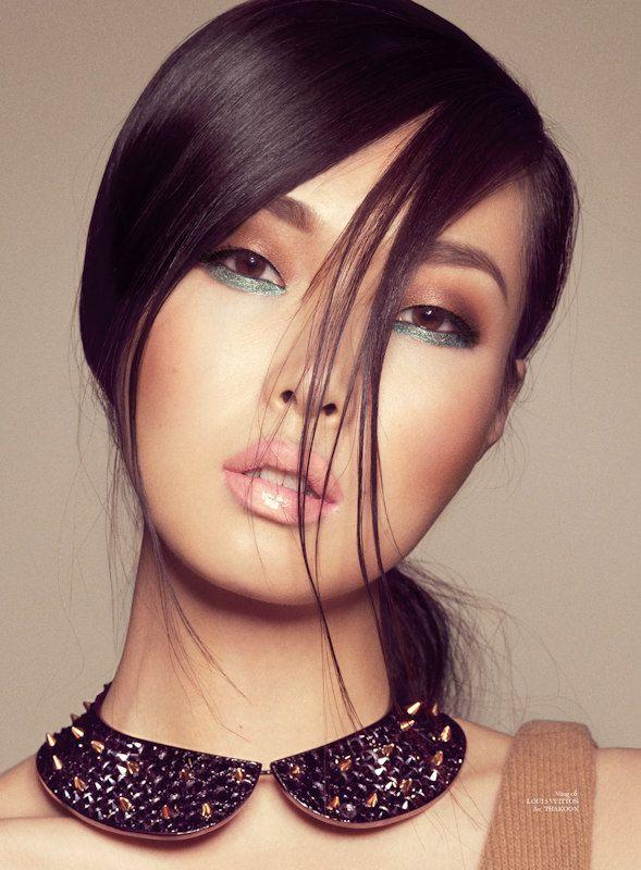 stockton johnson. elle.: Collar Necklace, Face, Make Up, Fashion, Inspiration, Makeup, Beauty, Hair, Eyes