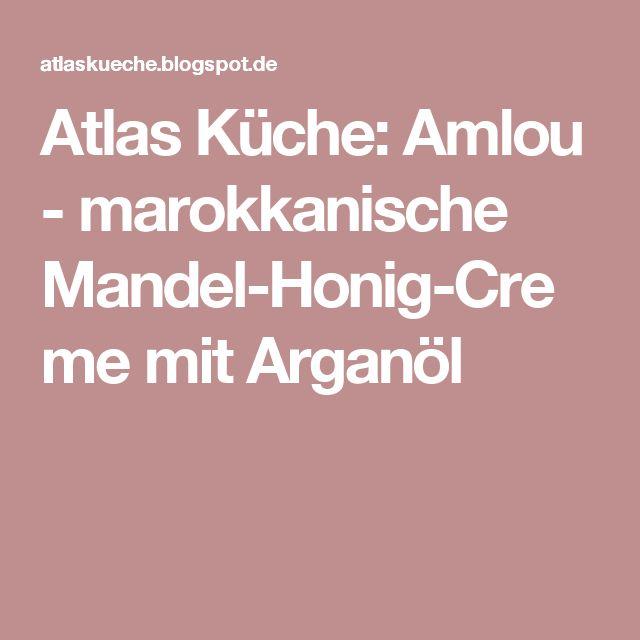 Popular Atlas K che Amlou marokkanische Mandel Honig Creme mit Argan l