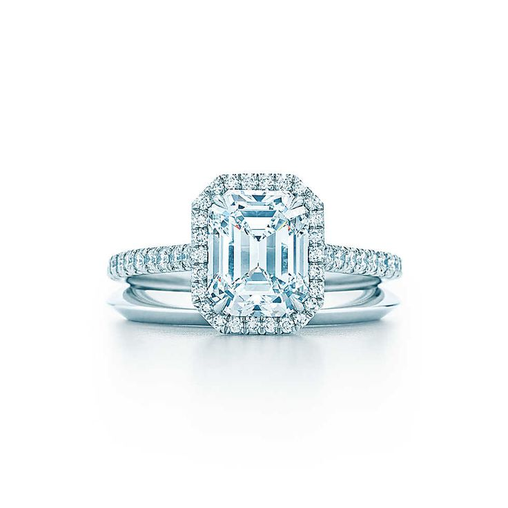 Bague diamant princesse tiffany