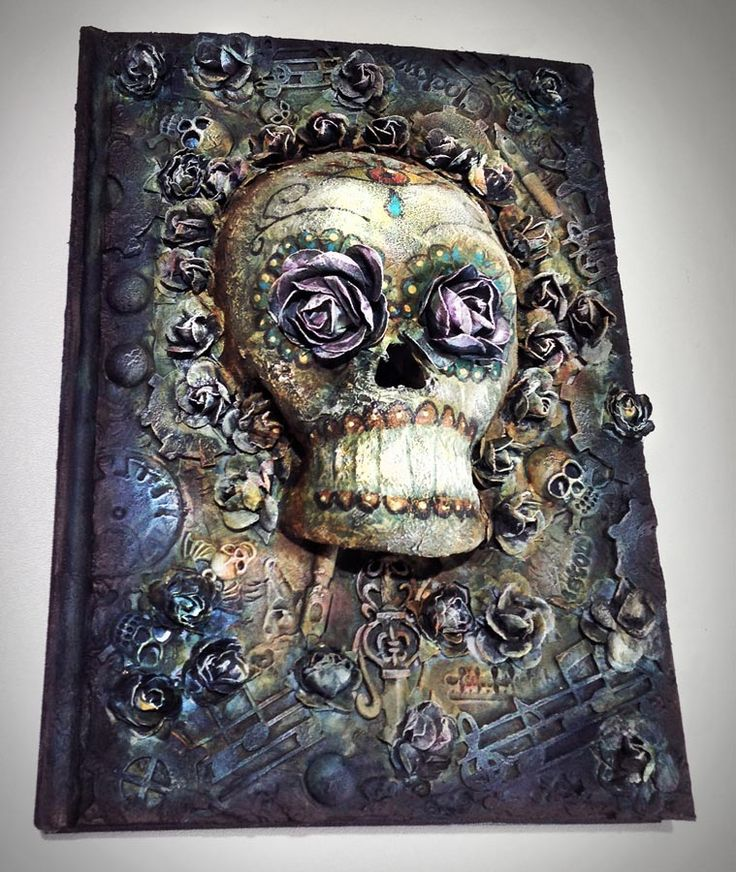 Sugar Skull Journal by Andy Skinner! WOW!