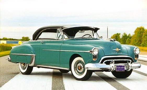 1950 Oldsmobile 88 Holiday Coupe....sturdy looking......Brought to you by Agents of  #CarInsurance at #HouseofinsuranceEugene