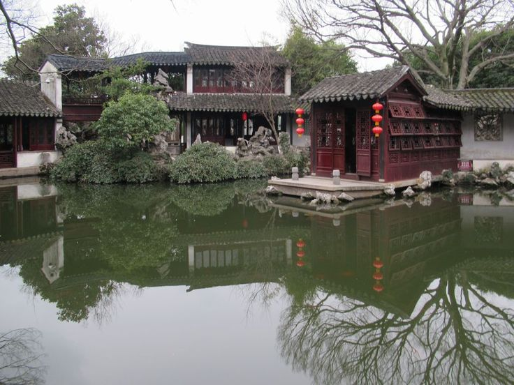 """Tuisi Yuan, the """"retreat and reflection garden"""" in the old town of Tongli, China, dates from the late Qing period."""