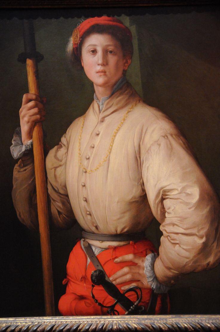 Francesco Guardi: Portrait Of A Halberdier