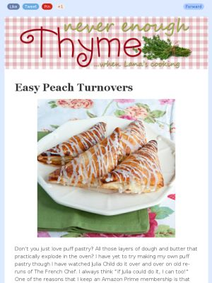 Easy Peach Turnovers Recipe — Dishmaps