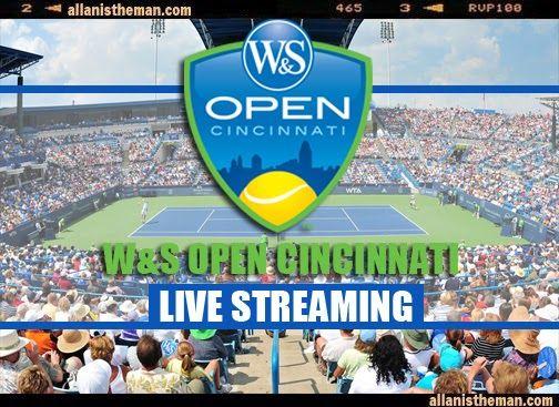2013 W & S Open Cincinnati Tennis Live Streaming | http://www.allanistheman.com/2013/08/W-S-Open-Cincinnati-Tennis-Live-Streaming.html