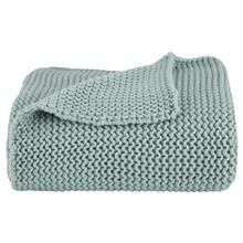 """Daly Knitted Throw 50"""" X 60"""""""